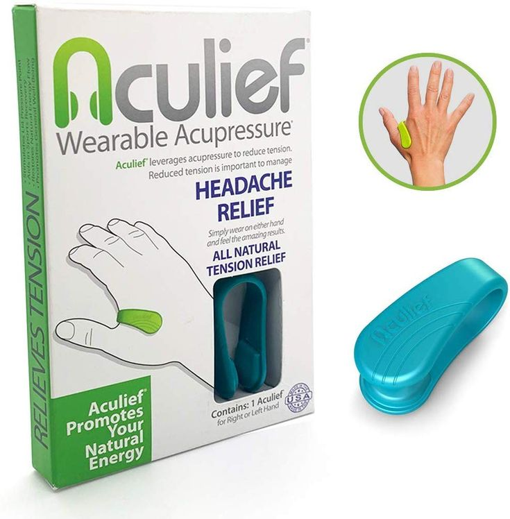 Amazon.com: Aculief- Award Winning Natural Headache and ...