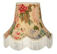 179 best fabric lampshades images on pinterest lamp shades retro chintz floral lampshade mozeypictures Gallery