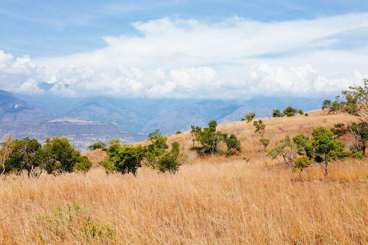 Paisaje del camino colonial entre Barichara y Guane Camino Real by Andreas Philipp on 500px