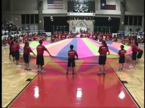 Parachute Routine - YouTube