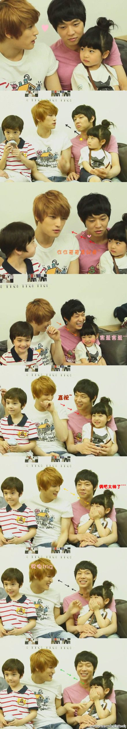 omg this is too cute *____*~~~~~~This is why JJ needs to have babies. How adorable is this?