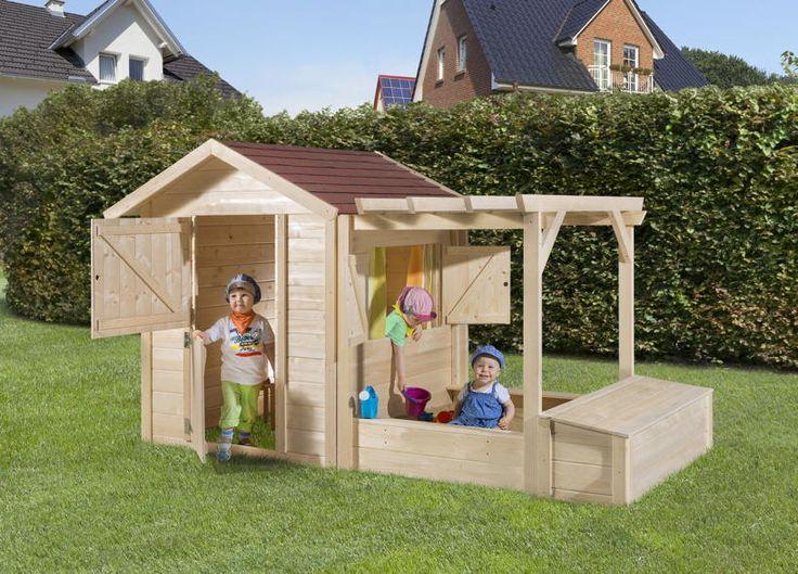 Kinder+Holz-Spielhaus+WEKA+Philipp+mit+Sandkasten+Kinderspielhaus+-+In+diesem+Kinderhaus+macht+spielen+richtig+Spass