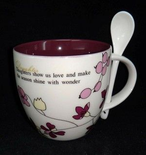 Daughter love mug w/spoon