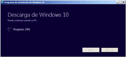 Descarga de Windows 10