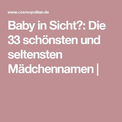 Baby in Sicht?: Die 33 schönsten und seltensten Mädchennamen |