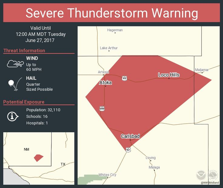 Severe Thunderstorm Warning continues for Carlsbad NM, La Huerta NM, Atoka NM until 12:00 AM MDTpic.twitter.com/LXp6gARqvN - https://blog.clairepeetz.com/severe-thunderstorm-warning-continues-for-carlsbad-nm-la-huerta-nm-atoka-nm-until-1200-am-mdtpic-twitter-comlxp6garqvn/