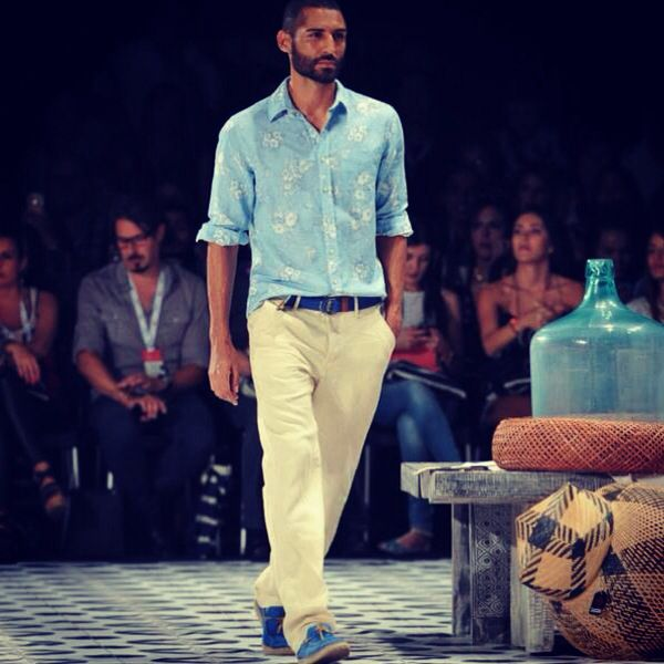 OndaDeMar colombiamoda 2014 #fashiontextures #swimwear #summer #camaralucida #chic #summer #beachy #ondademar #men #male