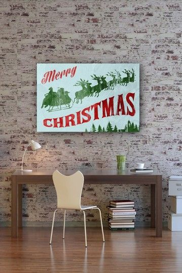 "Oliver Gal ""Vintage Xmas"" Canvas Art by Oliver Gal Gallery on @HauteLook"