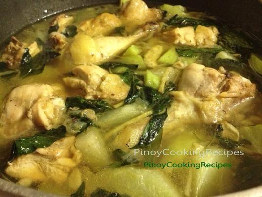 Tinolang Manok (Chicken Tinola) - PinoyCookingRecipes