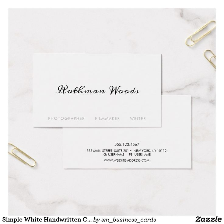 266 best Business Cards: Photographers images on Pinterest ...