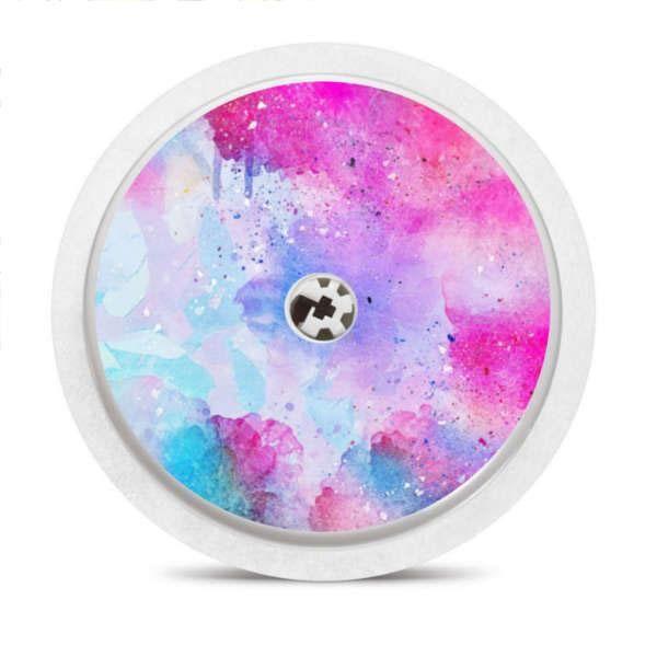 Freestyle Libre Sensor Sticker Watercolor Watercolor Color Pop