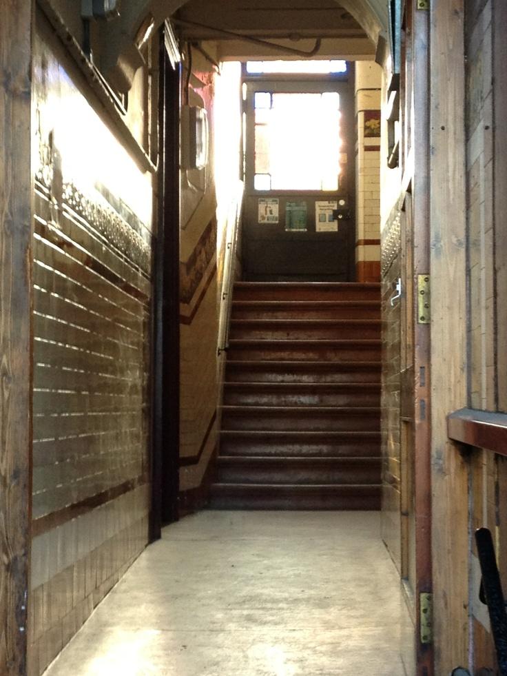 A Glasgow Tenement Close