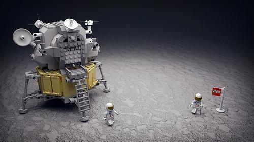 Moon Landing Lego