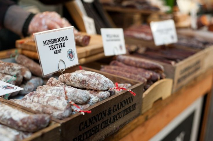 Cannon & cannon, Borough Market, best cured meat