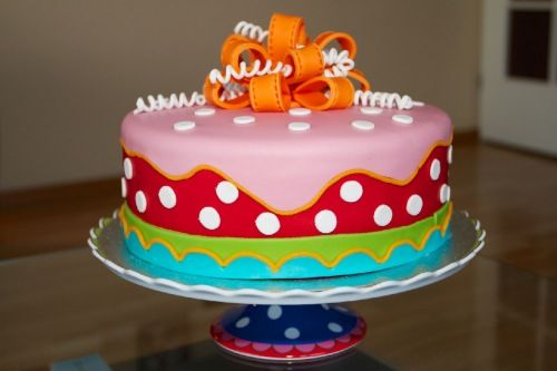 Spotty cake