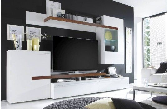 17 best images about meuble tv on pinterest design for Meuble hifi mural wall
