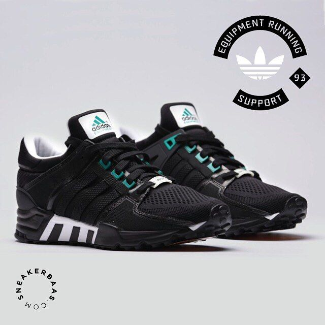 #adidas #ers #originals #sneakerbaas #baasbovenbaas  Adidas Originals E.R.S '93- A Molded Torsion bar for supreme cushioning during running makes this Adidas a solid choice for you. The grippy rubber outsole gives the sneaker a oldskool look, just like the green on the original Adidas logo and eyelets.  Now online available | Priced at 139.95 EU | Men Sizes 42.7- 45.3 EU
