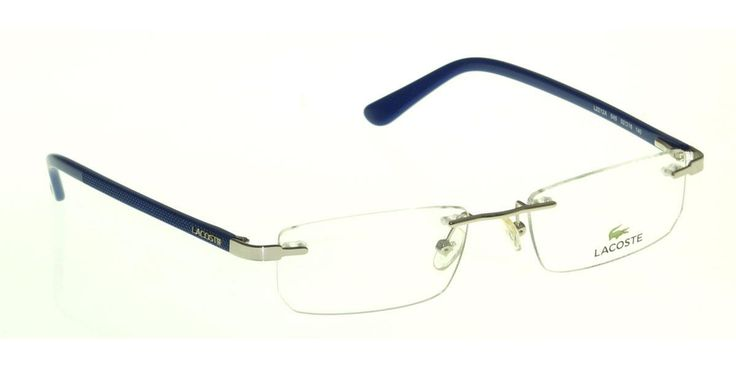 Buy Now Lacoste Frame Rimless Medium 52mm Rectangular (LA-L2212A-045) Online : India , US