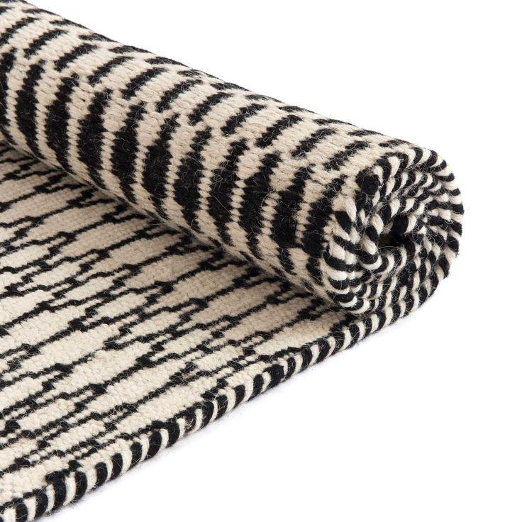 Teppich rund schwarz weiß  Die besten 25+ Teppich schwarz weiß Ideen auf Pinterest | Schwarze ...