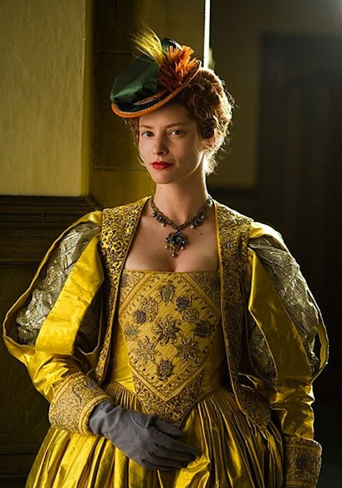 Sienna Guillory as Lettice Knollys in The Virgin Queen - 2005