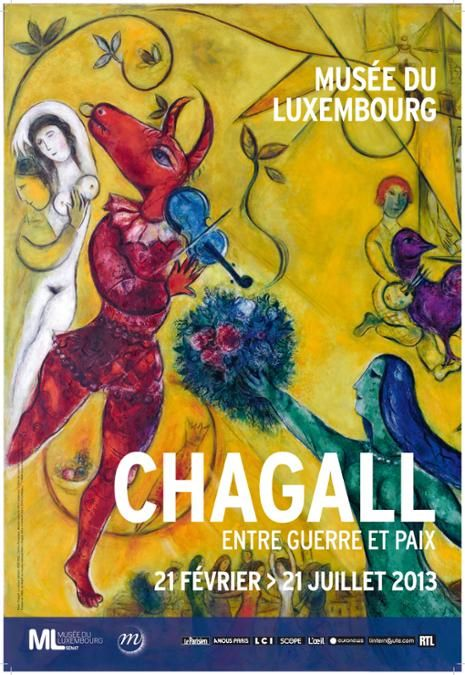 Affiche Chagall