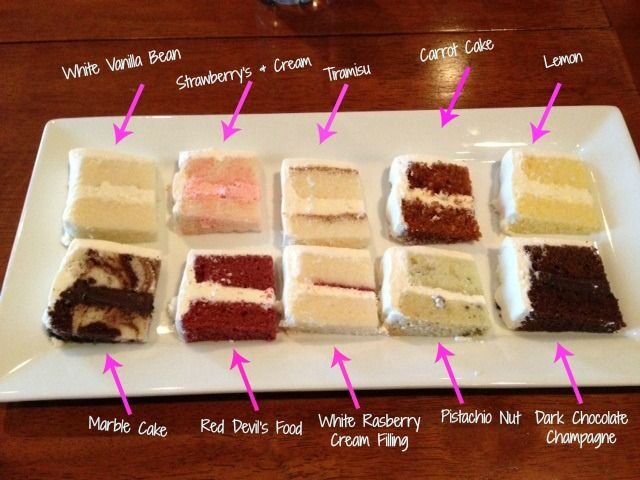 Wedding Cake Tasting Top 10 Flavors I Could Totally For A Right Now