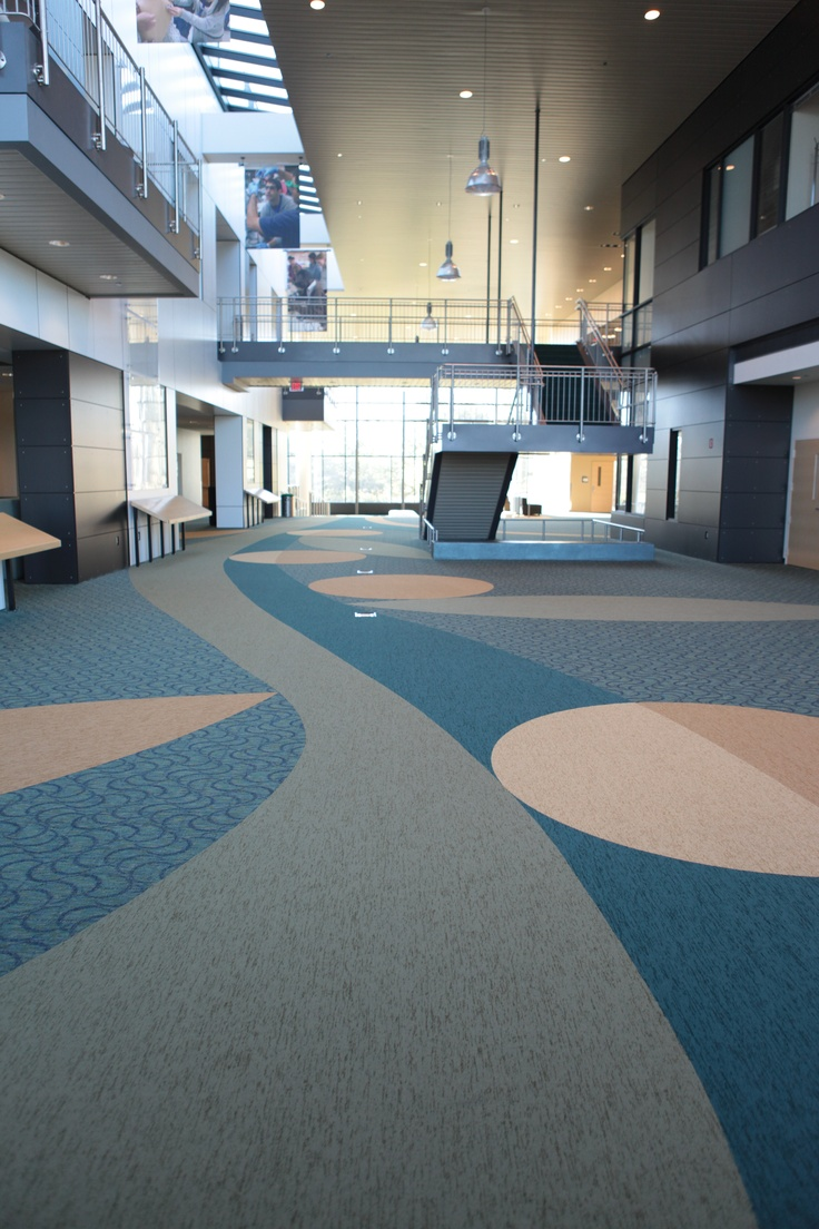 Powerbond by Tandus Flooring. Great for educational settings.: Floors Covers, Colleges Univ Design, Tandus Floors, Design Floors, Custom Design, Commercial Floors, Collegeuniv Design, Carpets Custom, Commercial Design