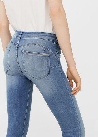 Kim skinny push-up jeans   MANGO