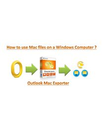 Switching from Mac platform to Windows is not that complex anymore as it used to be earlier through Mac OLM Converter Software...