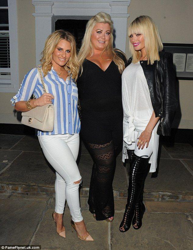 Danielle Armstrong, Gemma Collins & Chloe Sims