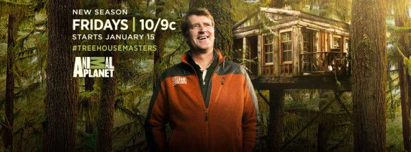 TREEHOUSE MASTERS returns on Animal Planet tonight, with an all-new Season Premiere, starring everyone's favorite tree-hugger, Pete Nelson.   Fans of TREEHO