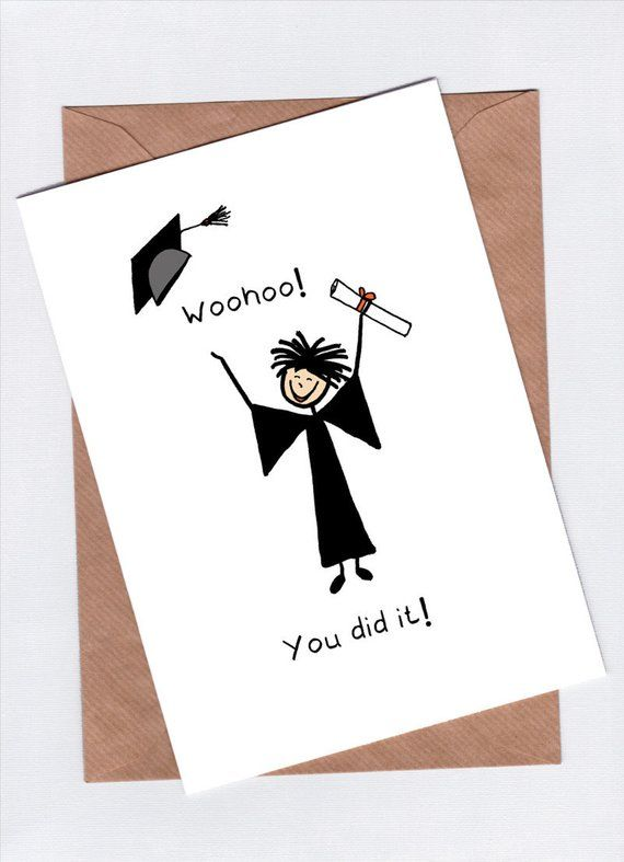 image regarding Graduation Cards Printable called Downloadable Commencement Card - Printable Congratulations