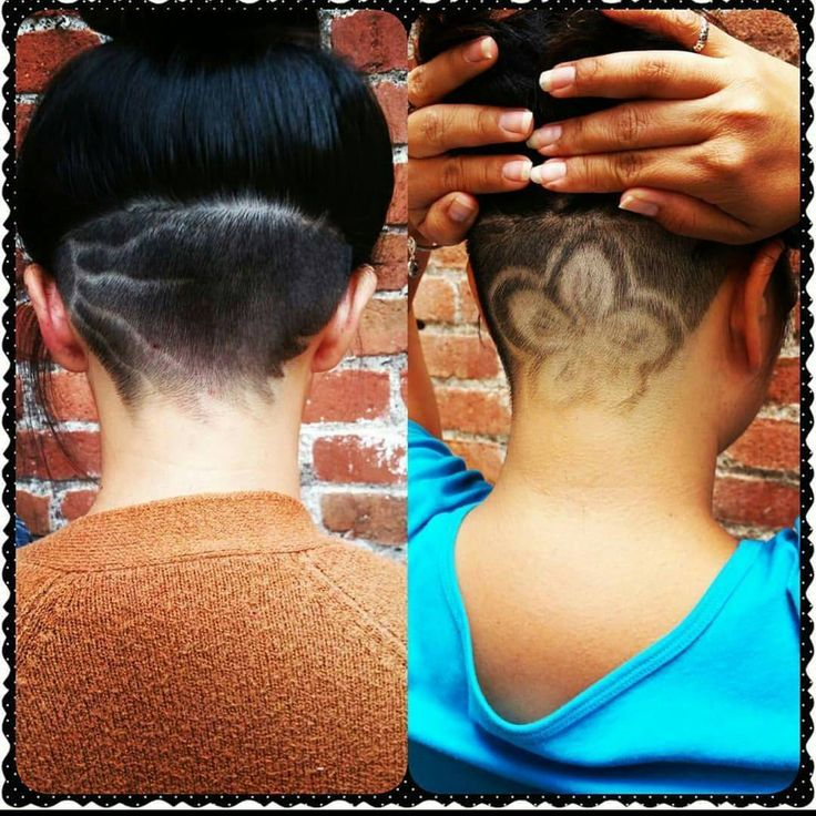 See This Instagram Photo By: #nape #undercut #barberlove #flower See This Instagram