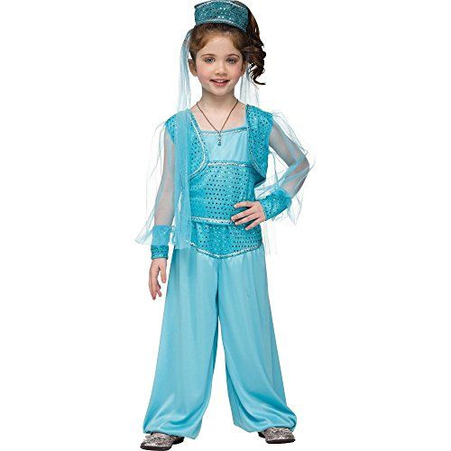 Arabian Princess Costume for Toddler 3T-4 * Review more details @ http://www.amazon.com/gp/product/B00WIDP71Y/?tag=cataudiobooks-20&uv=270716031000