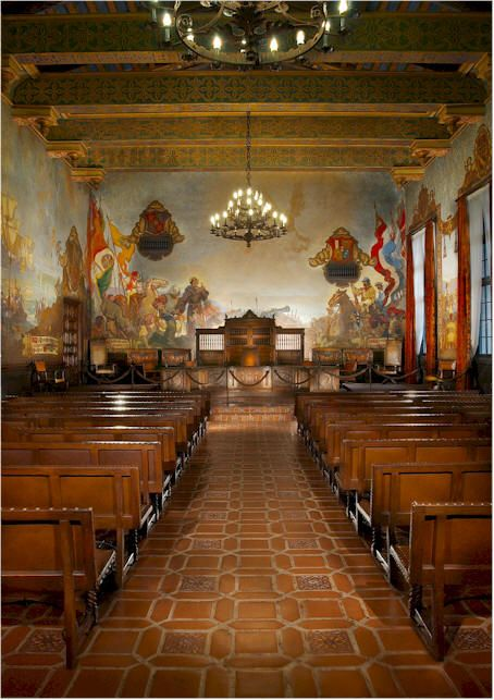 10 best images about county courthouse on pinterest for Mural room santa barbara