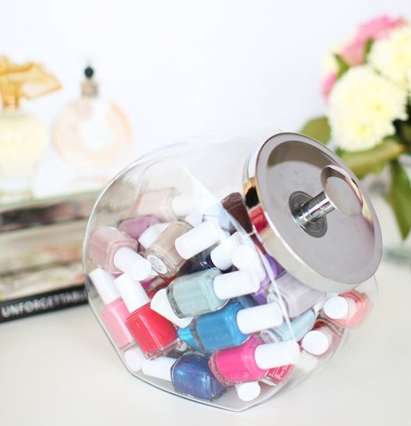 5 Cute Nail Polish Organization Ideas – Home organization