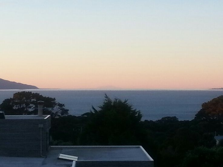 Mt Ruapehu from my home by the sea