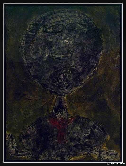 Jean Dubuffet – Pierre Matisse ciemny ART BRUT