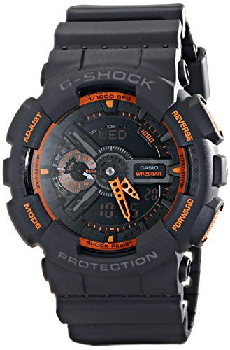 Casio Men's GA-110TS-1A4 G-Shock Analog-Digital Watch Wit...