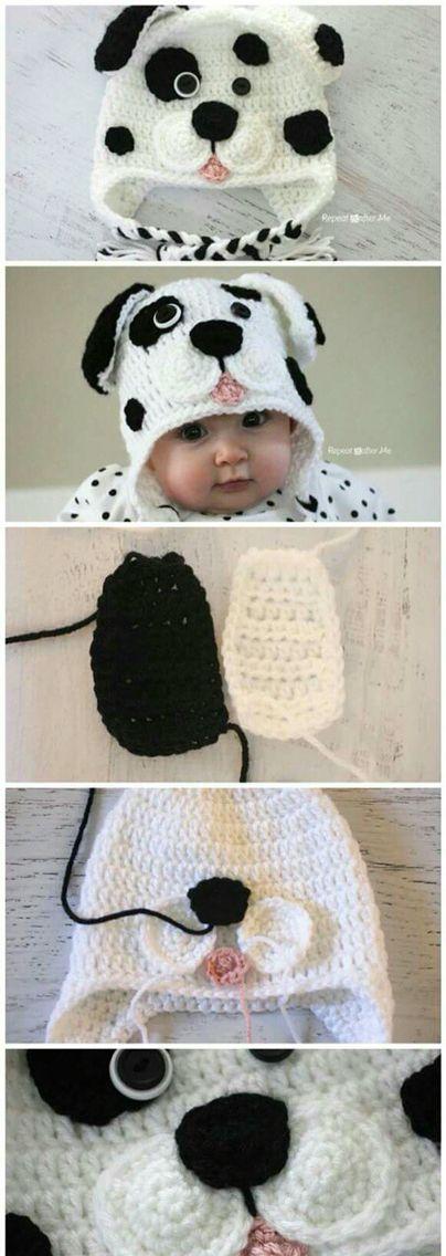 Mejores 55 imágenes de Gorros en Pinterest | Sombreros de ganchillo ...