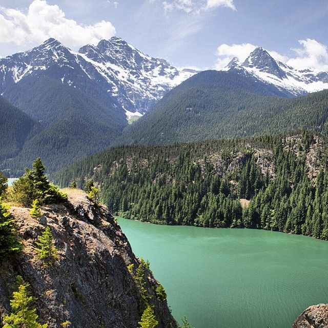 Best Images About Washington Places To Hike Go On Pinterest - North americas 9 most scenic lakes