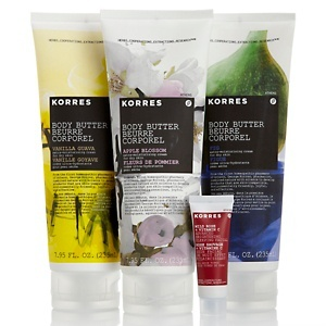 Korres Ultra-Hydrating Body Butter Trio at HSN.com.