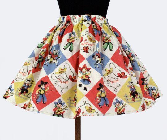 Western Fun Skirt