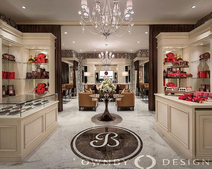 chocolate retail store design