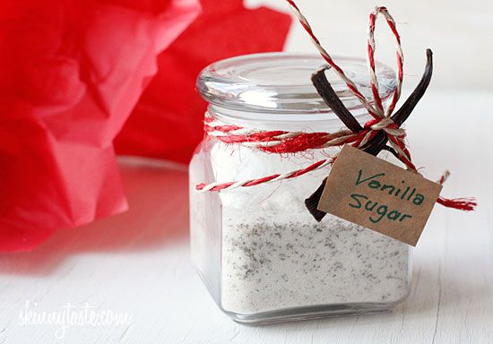 {Vanilla Bean Sugar} This is a cute idea, especially if you have a coffee drinker!