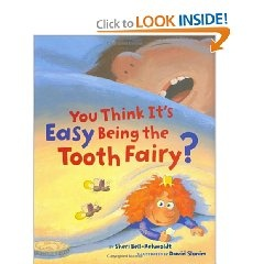 This is the GREATEST tooth fairy book!  I wish I would have found it sooner!  In this version, the tooth fairy is like a superhero who has to plan her entrance & rescue lost teeth without being spotted. My class LOVED this book!