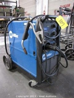 Lot #0107: Millermatic 251 Wire Welder with Cart and Tank  Bidding on this item starts Tuesday, May 21, 2013 at 10:00 am (PT