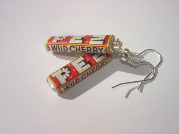pez candies miniature earrings by andreachalari on Etsy, $15.00