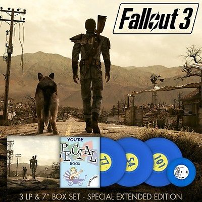 Fallout 3: SPECIAL Edition Vinyl Soundtrack / Rare / Sold Out / Sealed