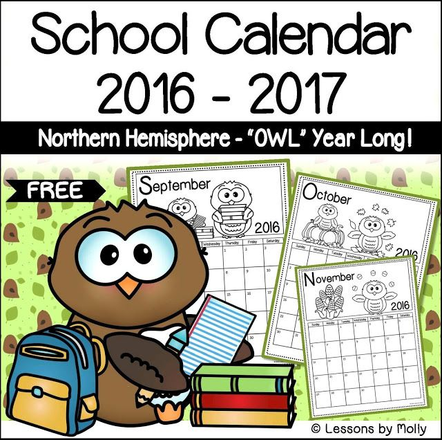 25+ Best 2016 17 School Calendar Ideas On Pinterest | School